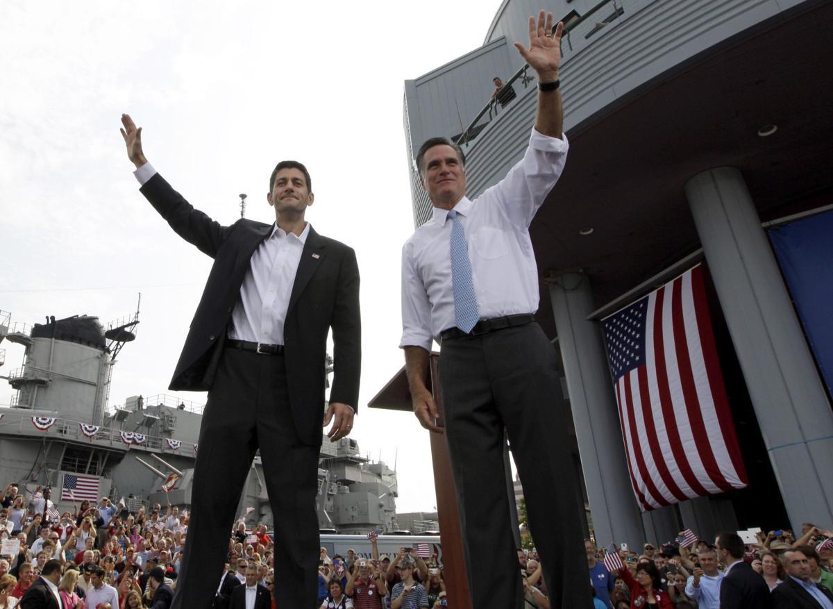 It's Paul Ryan: Romney picks Wisconsin congressman for No. 2 spot on ticket