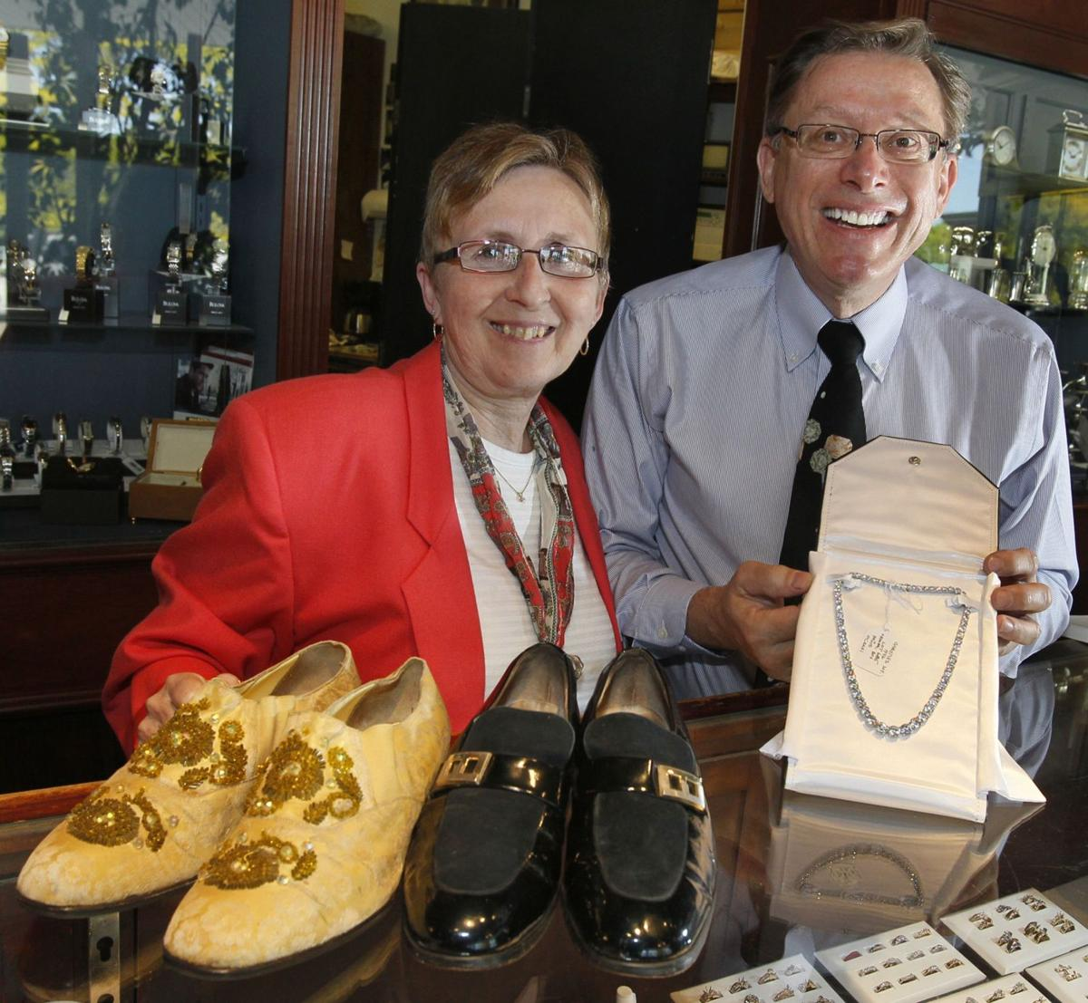 Jeweler collects movie star fashions as hobby