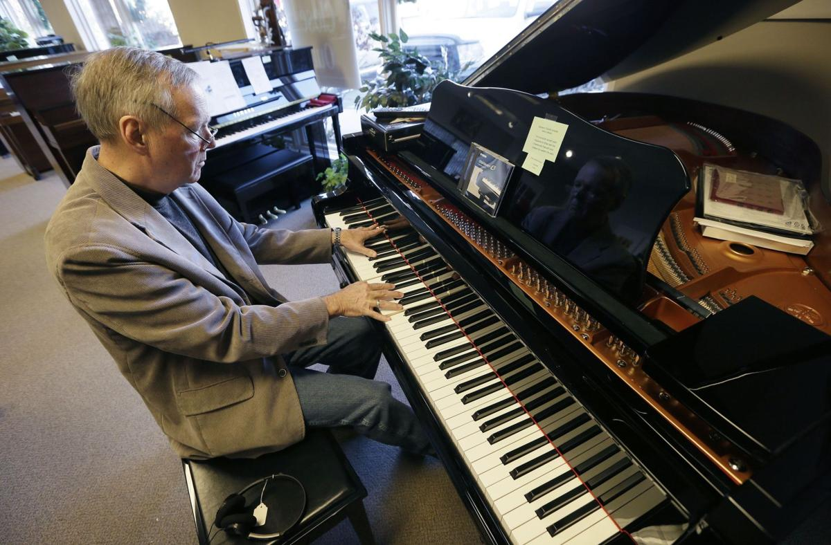 Piano stores closing as fewer children taking up instrument