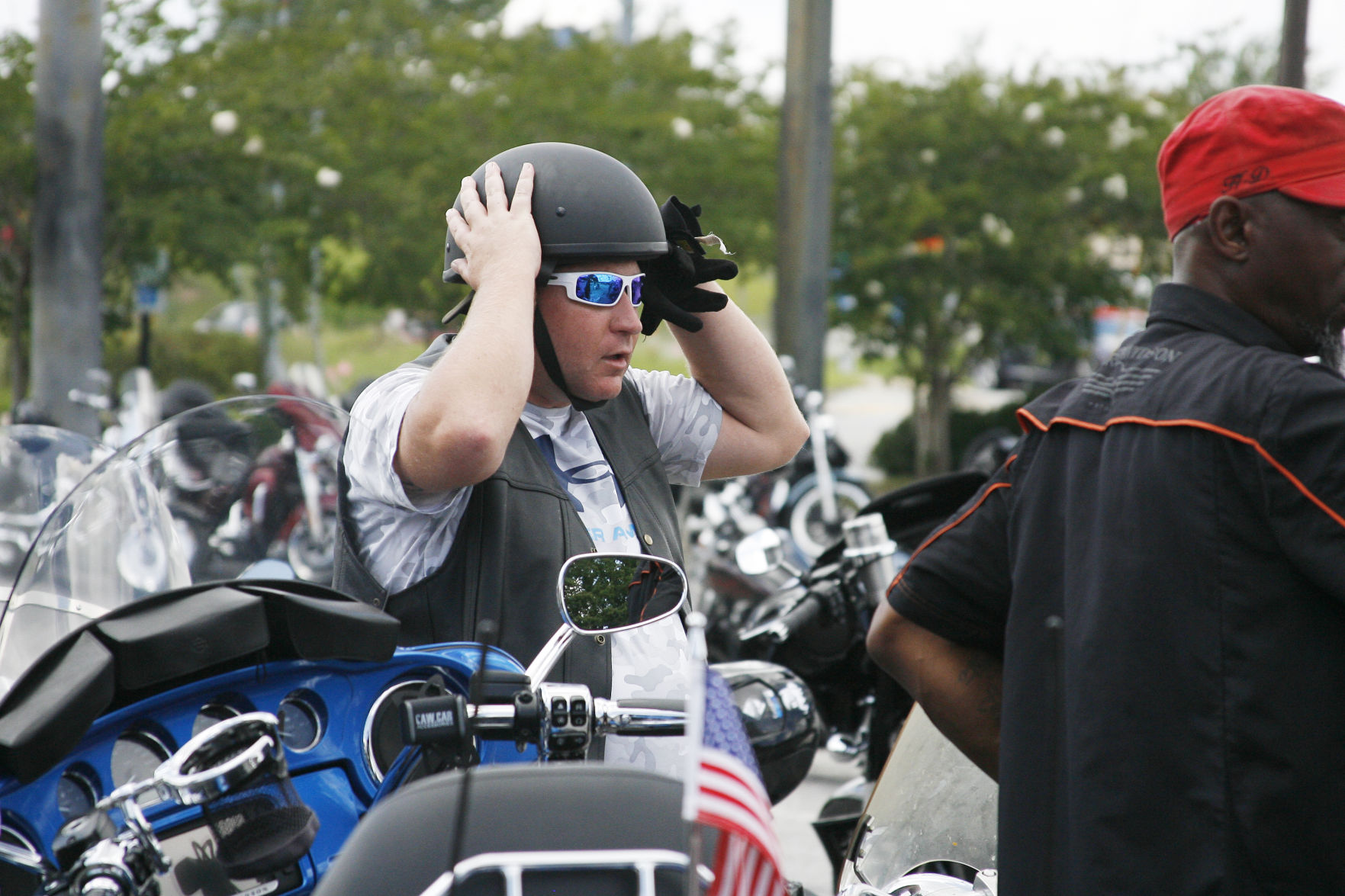 Mandating the use of motorcycle helmets what are the issues on the ballot