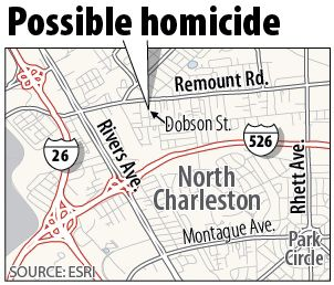 Man finds roommate's body in shed at North Charleston house