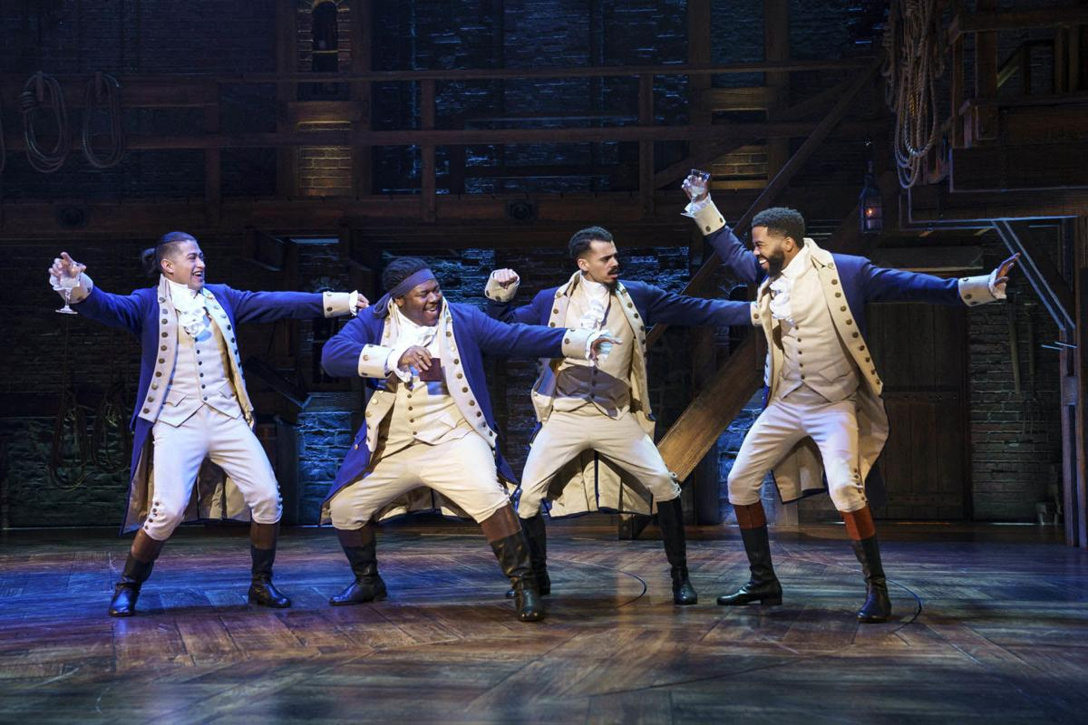 HAMILTON National Tour by Joan Marcus