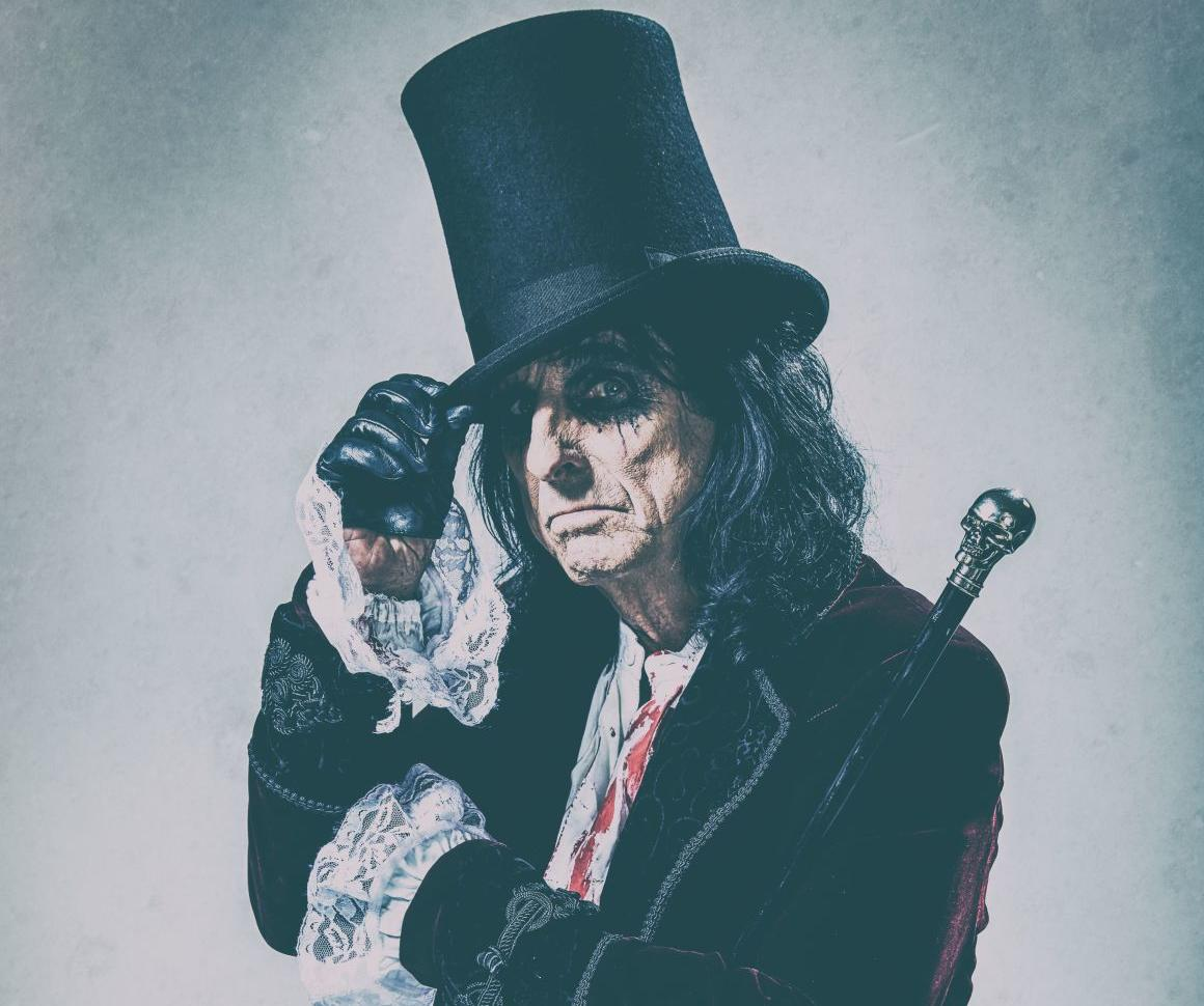 Alice Cooper, famous for shows with guillotines and snakes, coming to Charleston area