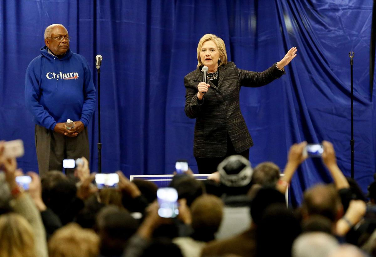 After pledging to stay neutral, Jim Clyburn weighs endorsing Clinton for president