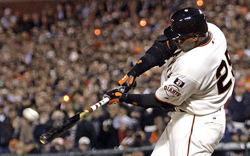 Bonds makes history with 756th home run