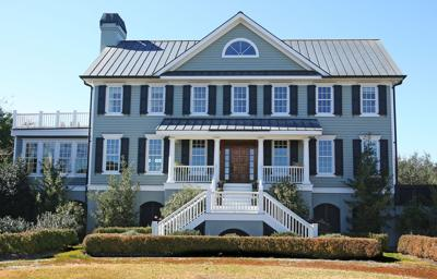 1168 Pilot Boy Road 'Dayspring' country estate on Wadmalaw River comes with deepwater dock, tidy acreage