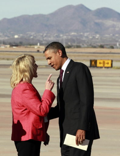 Arizona Gov. Brewer gets book critique from Obama
