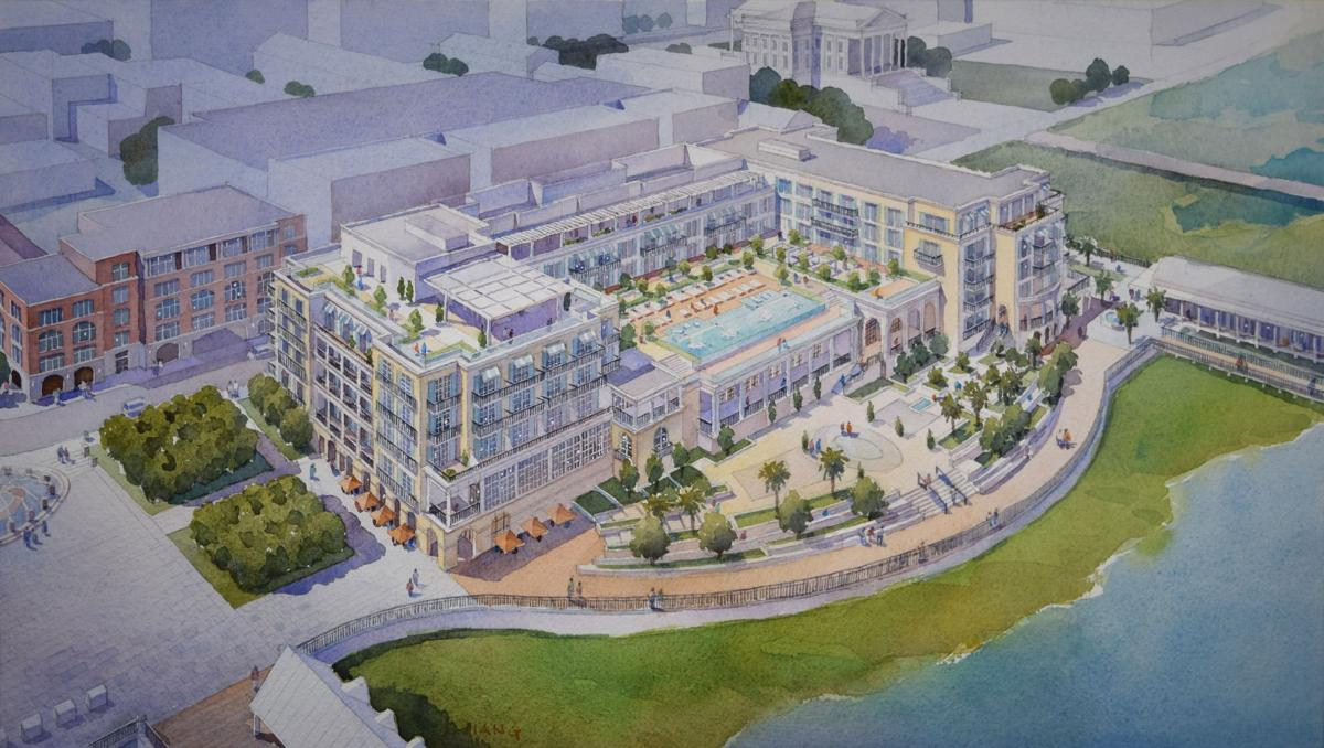 Proposed hotel on SPA offices site