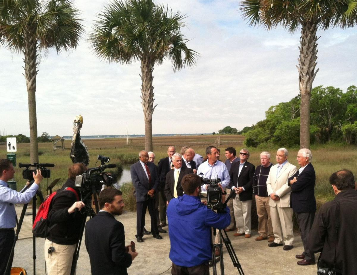 Sanford sees the light on offshore drilling