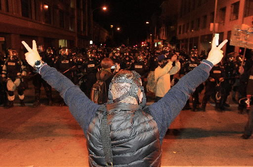 Emotions run high after Occupy protests in Oakland