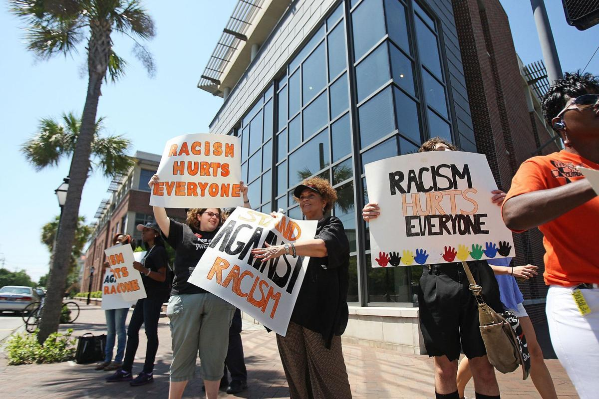 YWCA rallies against racism during STAND event