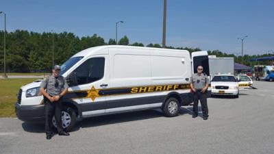 Horry County jail van (copy) (copy) (copy)