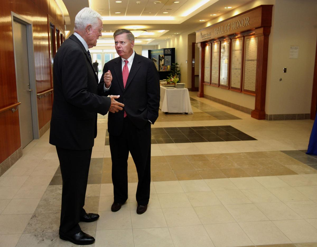 Fritz Hollings' advice as Lindsey Graham looks at running for president? It's all about the green