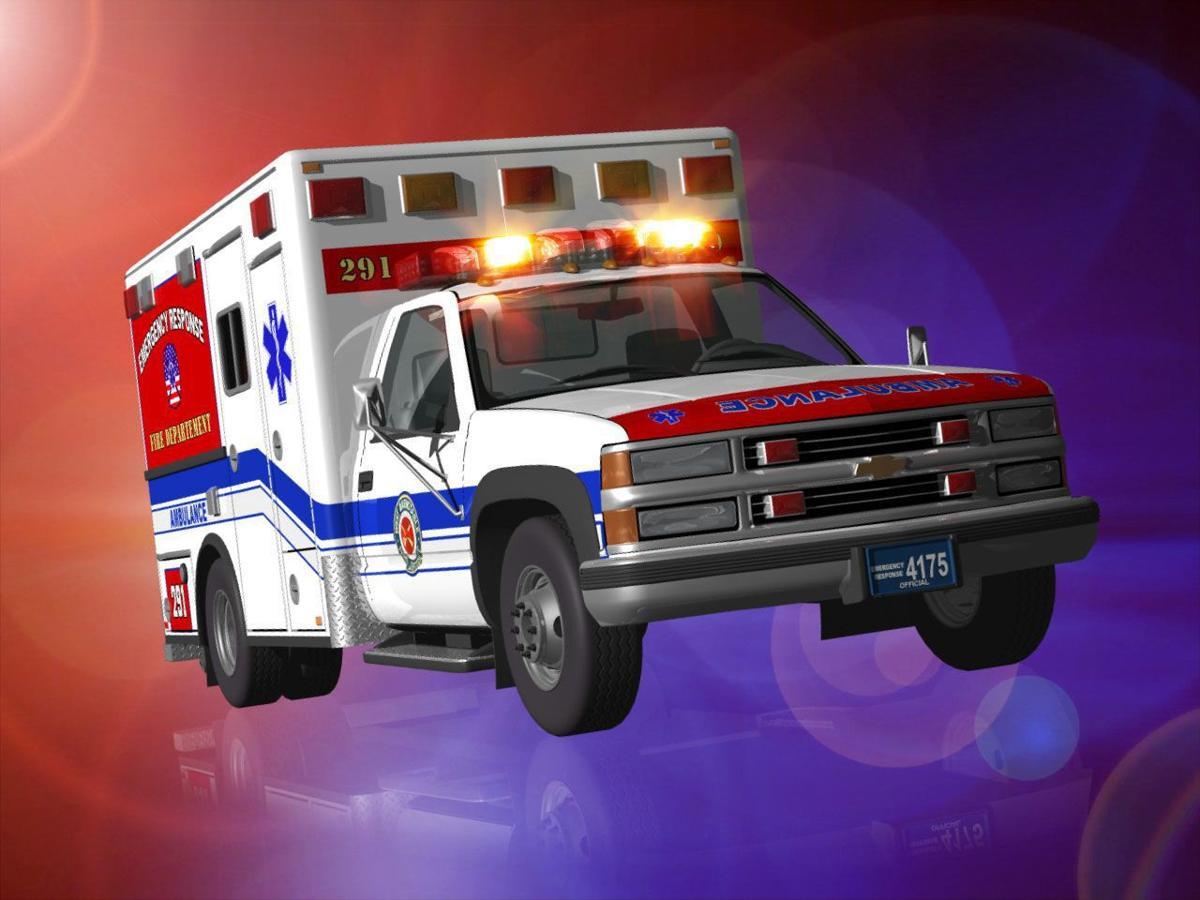 Seven hurt when Berkeley County ambulance, logging truck collide