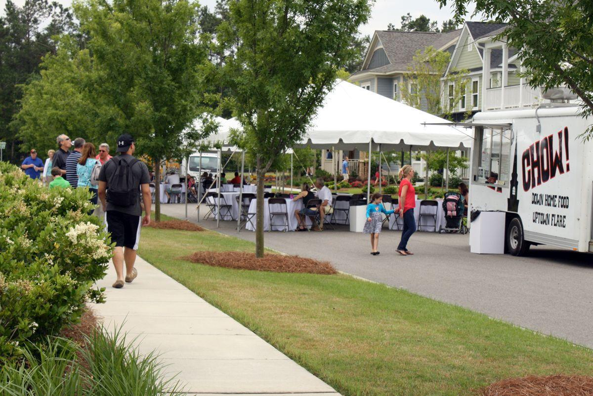 Party on Village Green marks fourth year in Summerville planned community