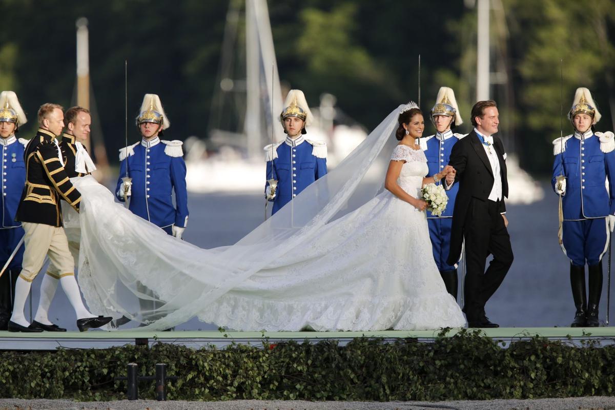 Swedish princess marries New Yorker
