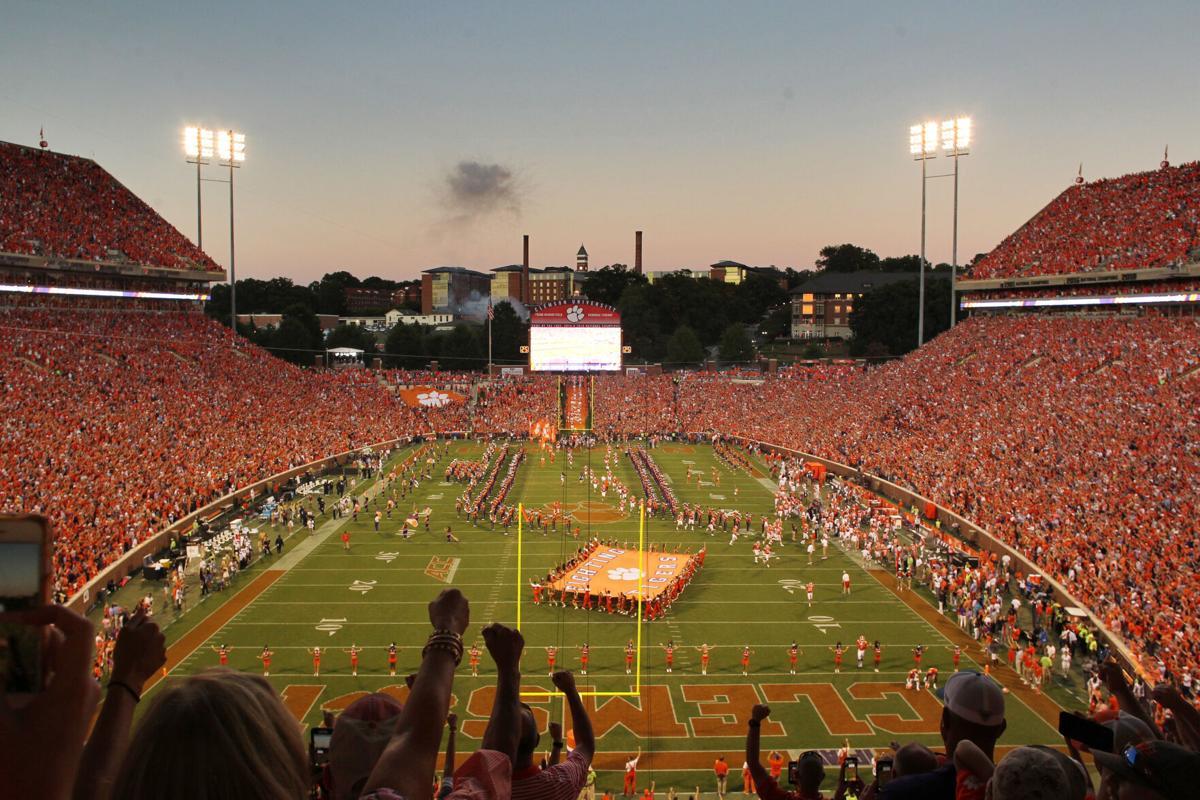 Clemson stadium uncovered story