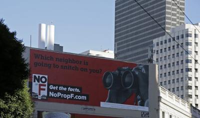 short-term rentals billboard
