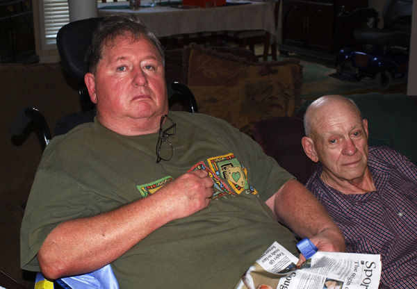 One former high school football coach aids another in need