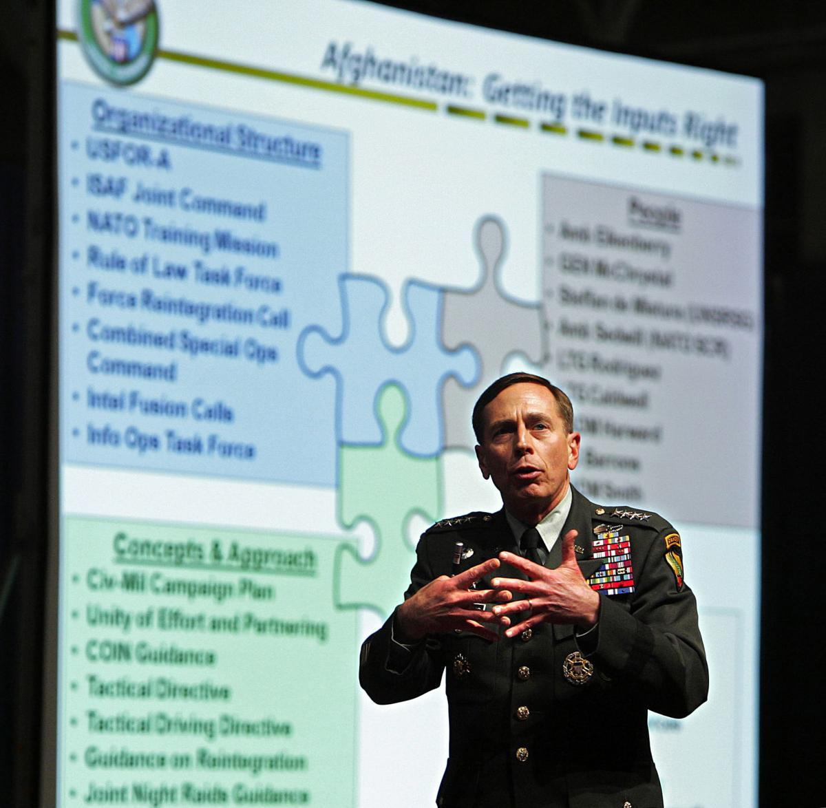 Citadel honors Petraeus