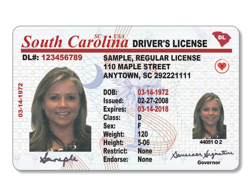 south carolina rolling out new driver's licenses to meet