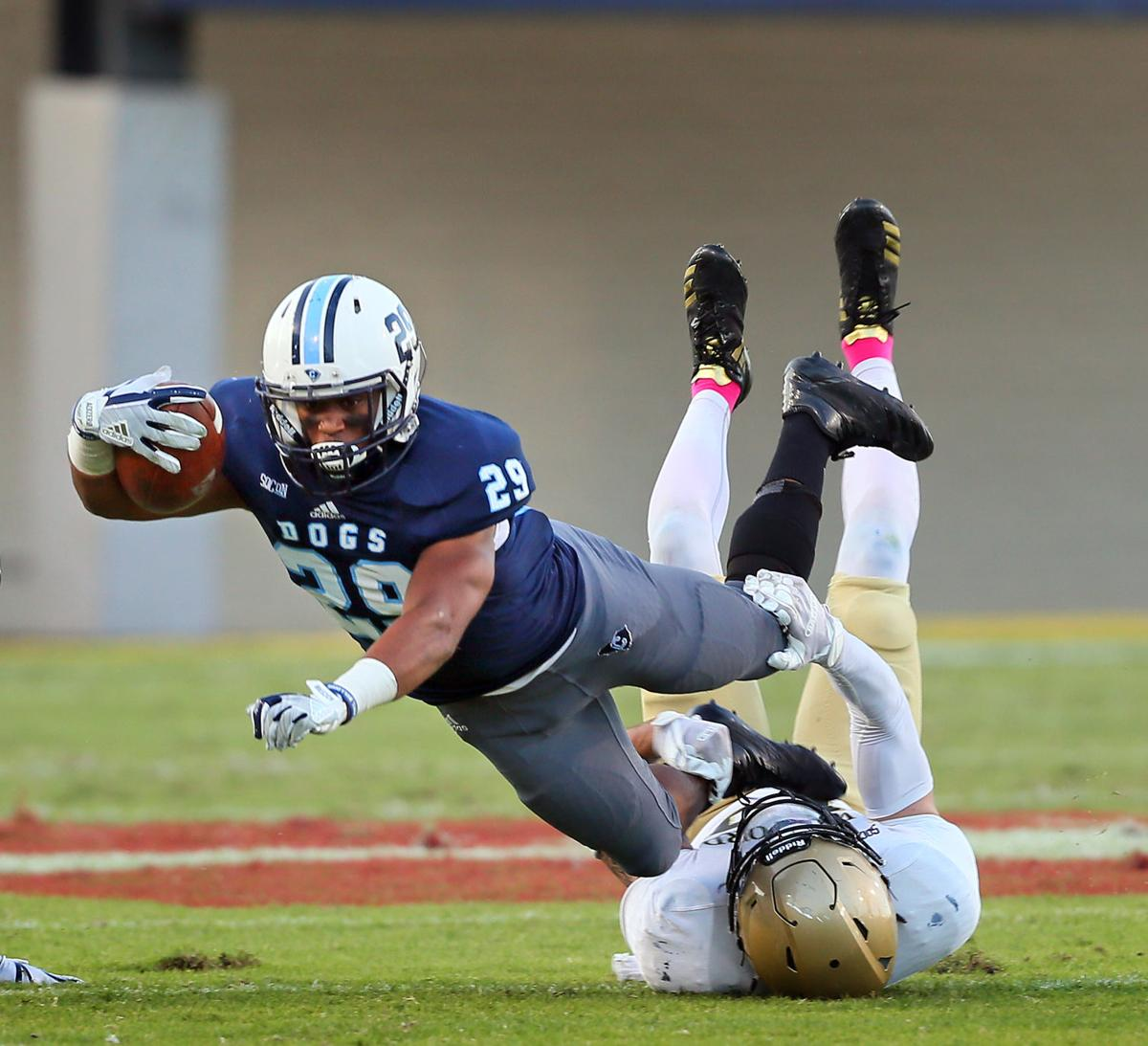 tripped up Citadel Wofford