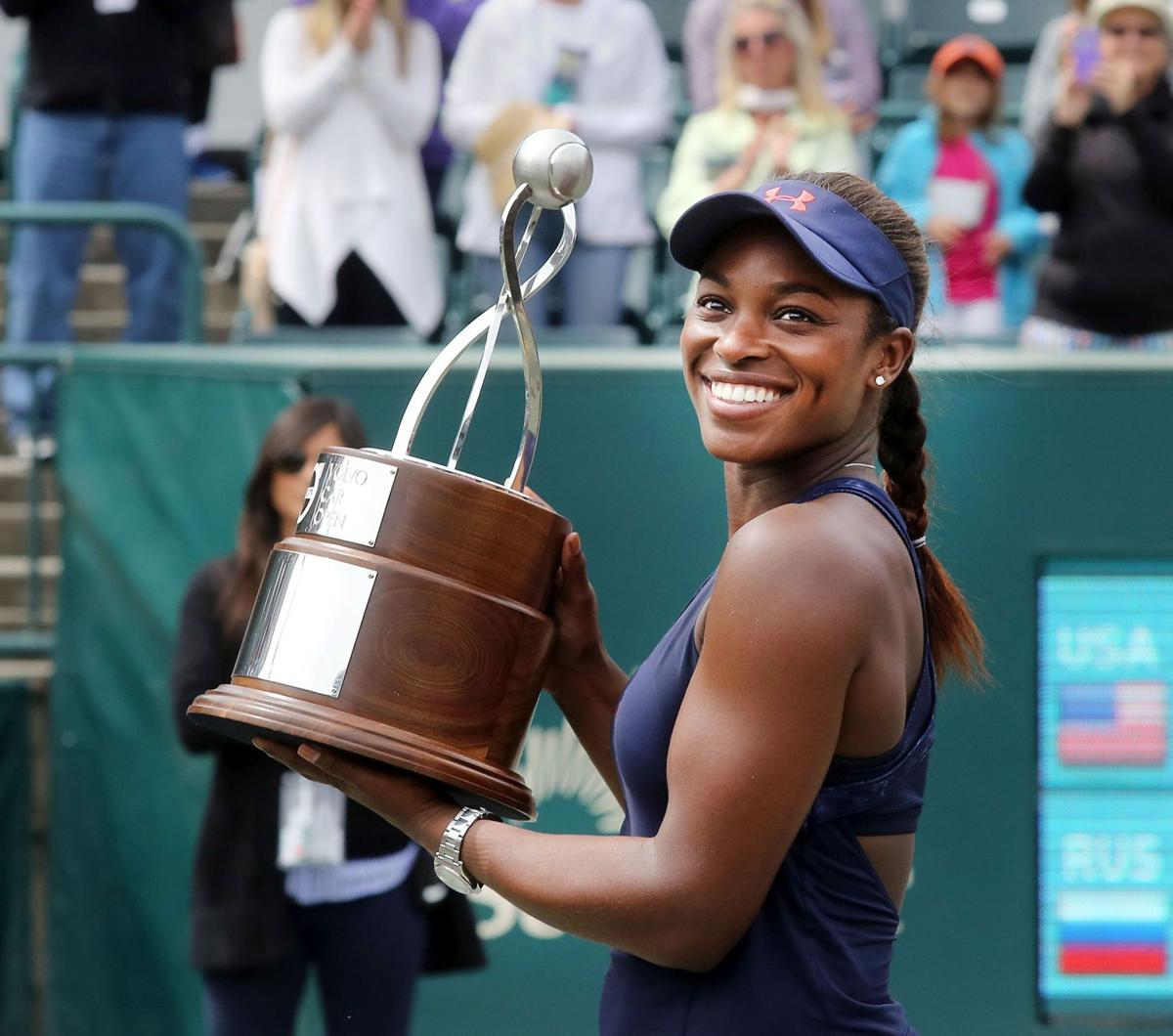 2018 volvo open tennis. plain tennis sloane stephens intended 2018 volvo open tennis post and courier
