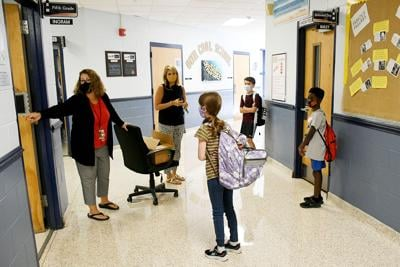 DD2 Teachers connect with students, prepare for school