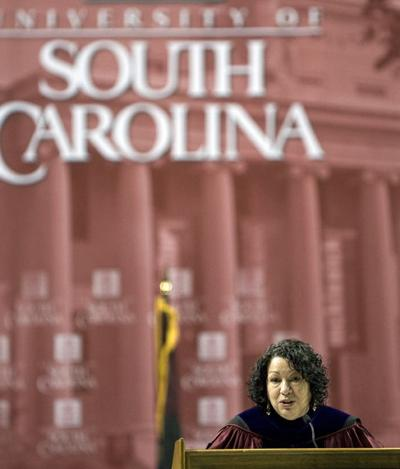 Supreme Court Justice Sonia Sotomayor tells USC graduates of mother