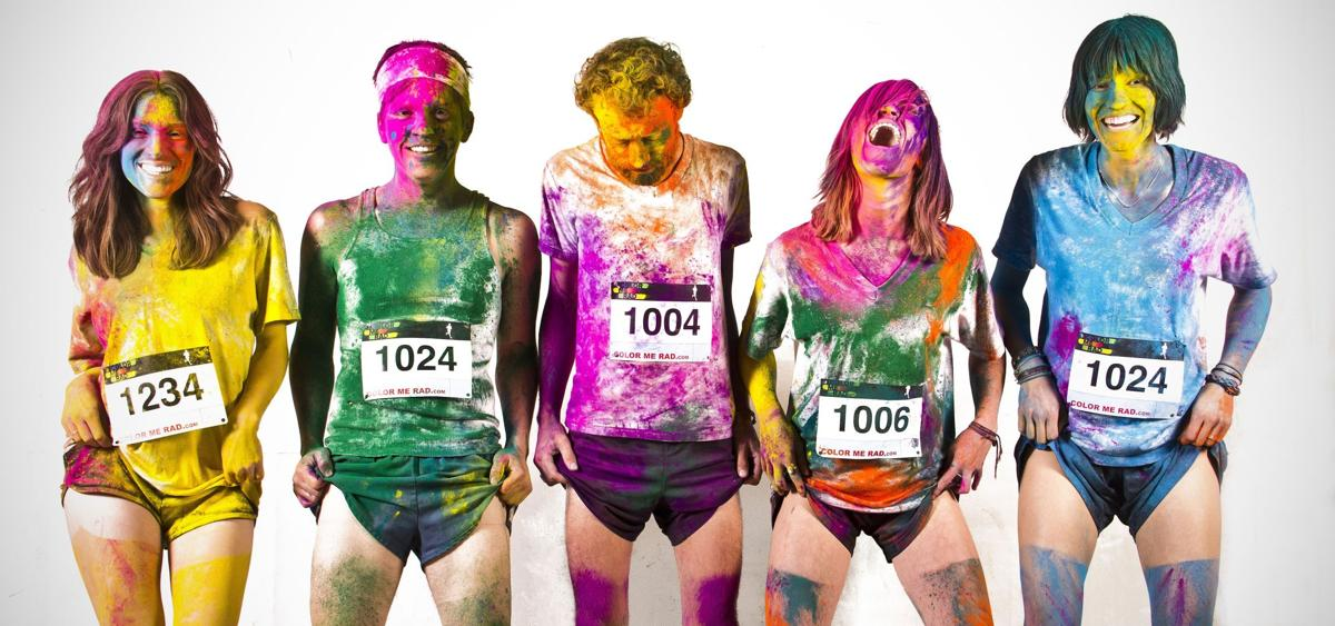 Up to 8,000 expected for Color Me Rad 5K run
