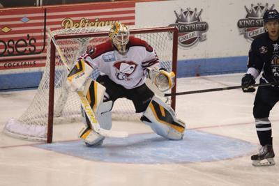 Stingrays Adam Morrison named ECHL Goalie of the Week
