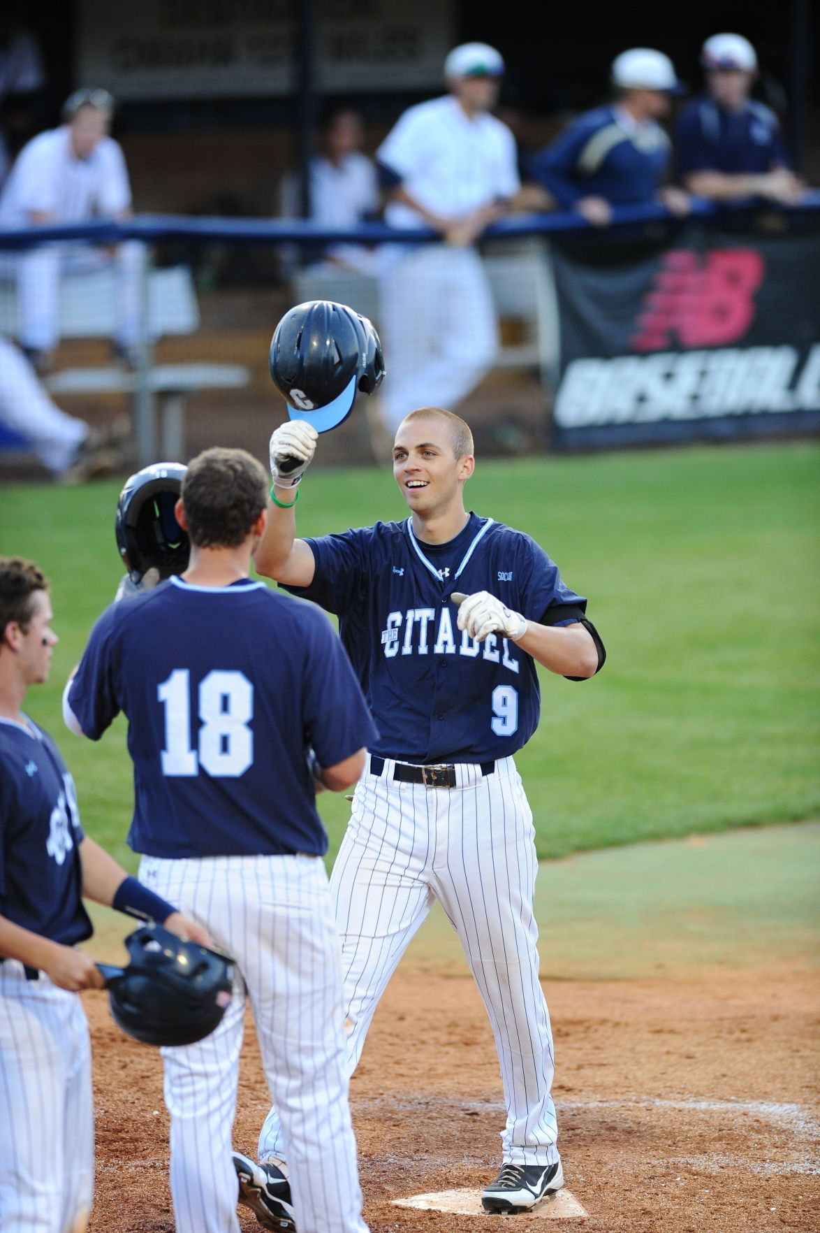 Citadel slugs six homers, two by Tyler Griffin, in 21-6 win at Charleston Southern