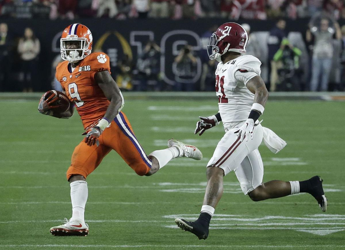 Gallman content with comeback, eyes Clemson career rushing record