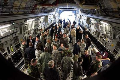 First new C-17 lands at Air Force Base