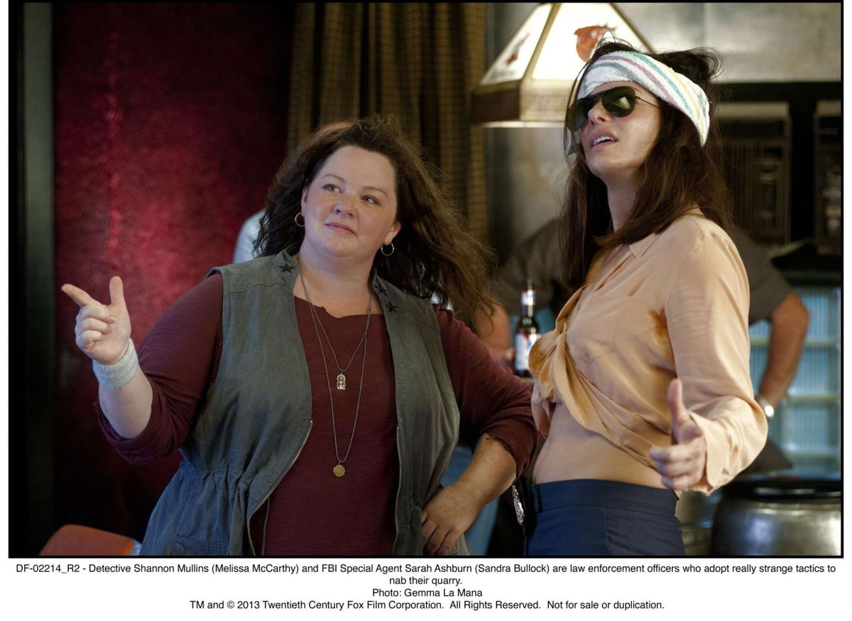Review: Sandra Bullock and Melissa McCarthy turn it up in 'The Heat'