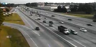 Traffic: Major roads around Charleston clear