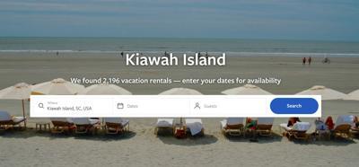Kiawah Island VRBO listings