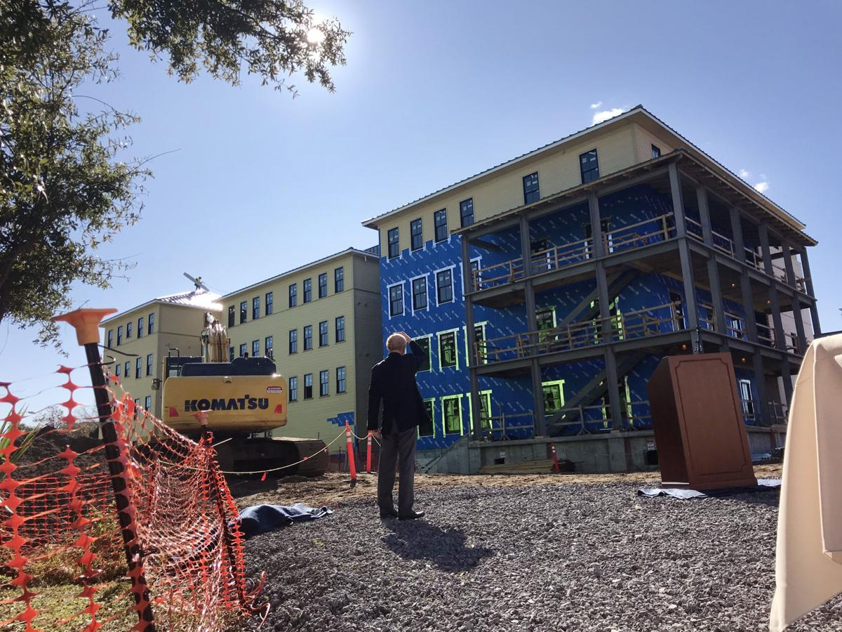 New affordable housing on Charleston's East Side includes flood prevention measures (copy)