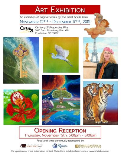 Real estate office to host art show