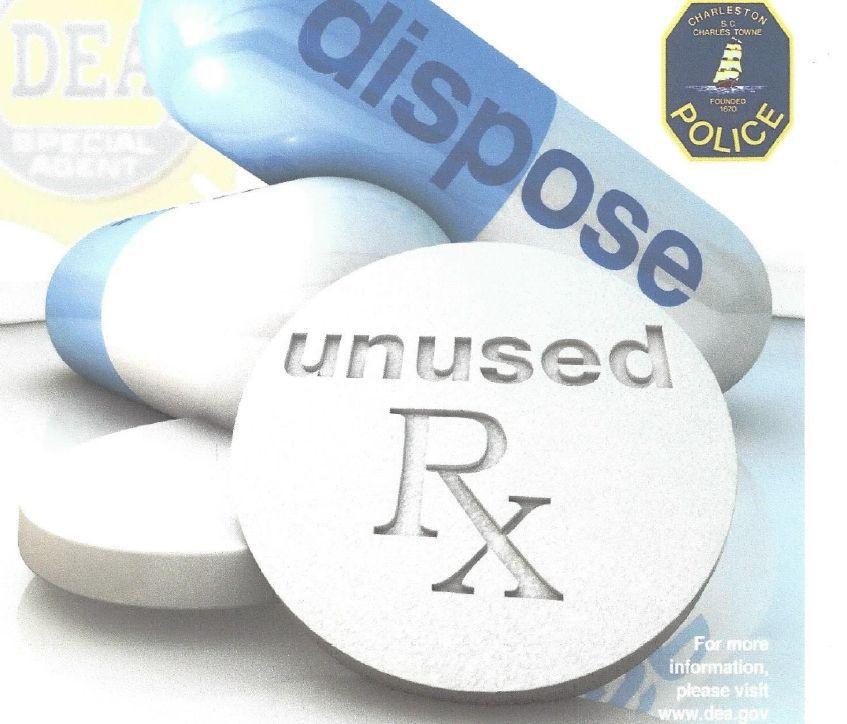 Turn in unused prescription drugs for safe disposal