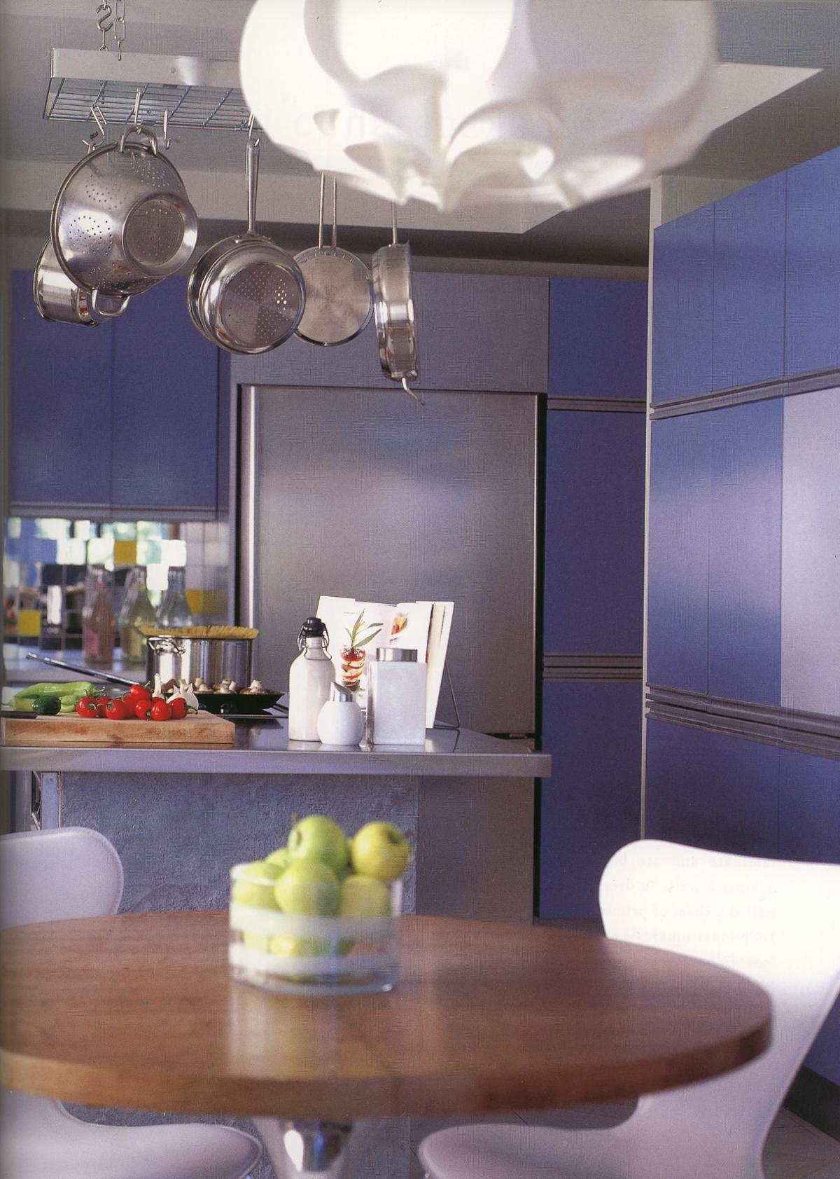 Update kitchen cabinets with paint for summer