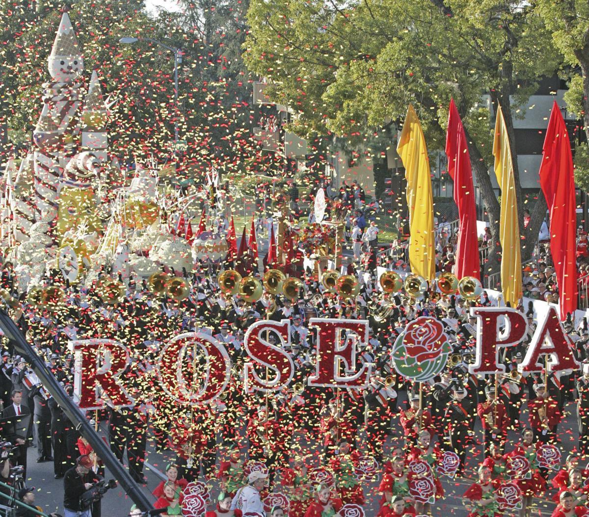 The 123rd Pasadena Tournament of Roses parade