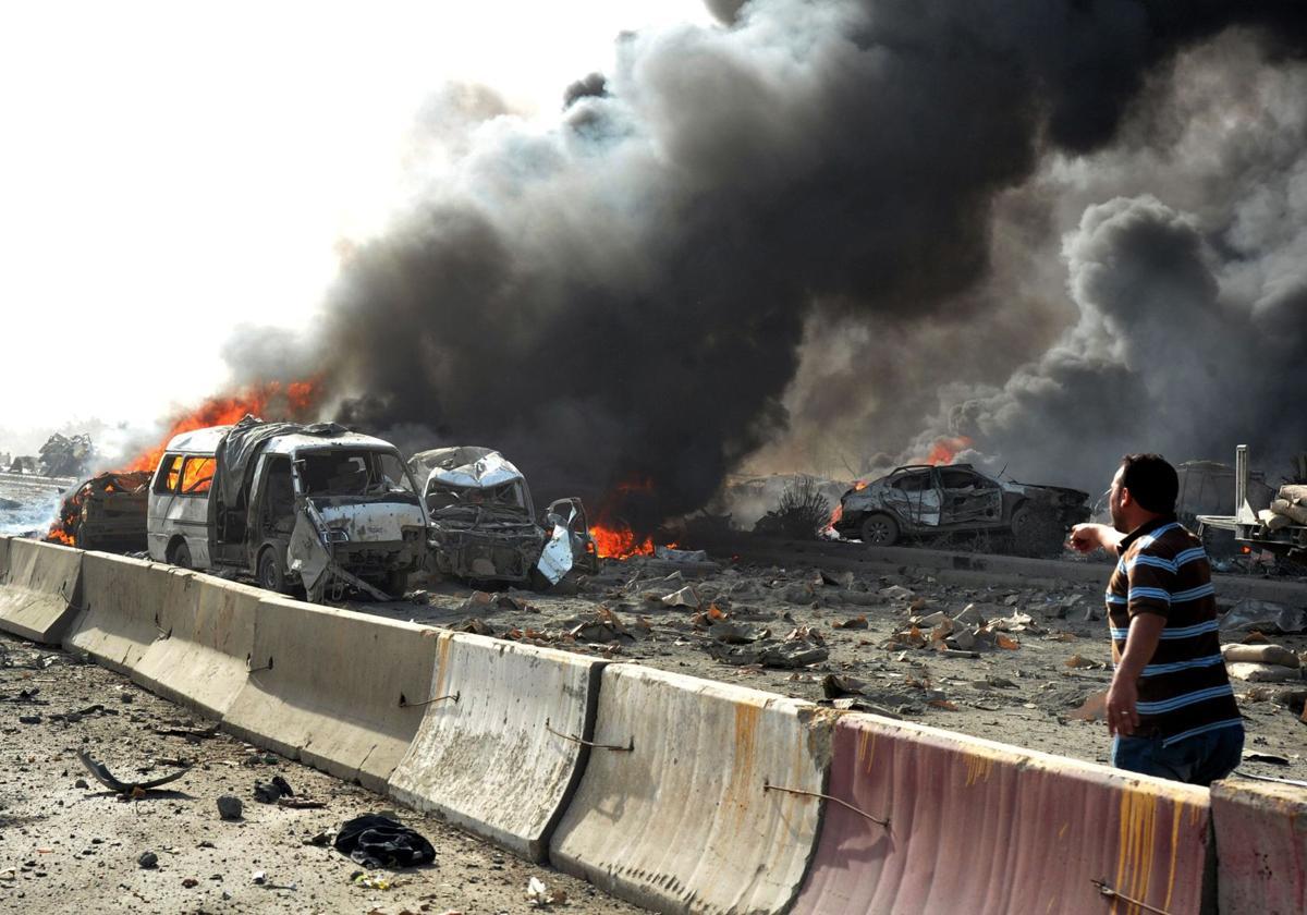 Suicide bombings kill dozens in Syria