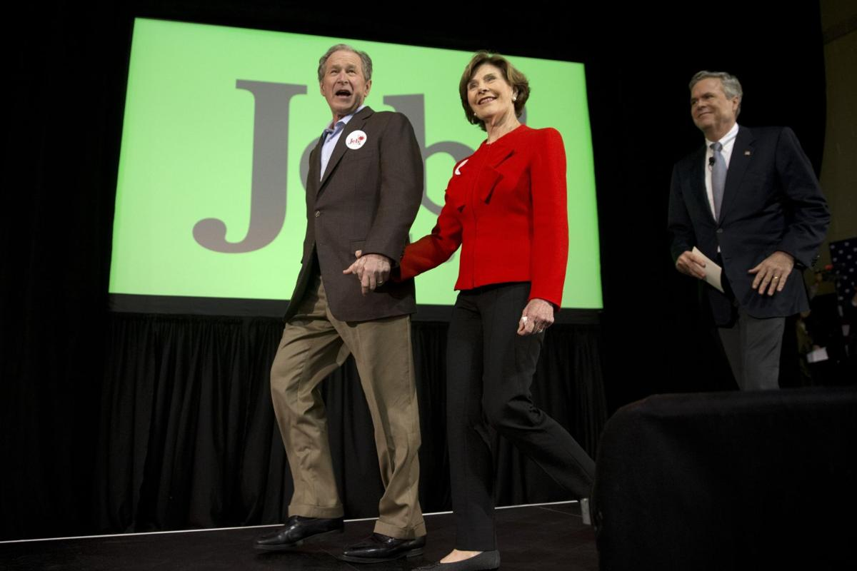 'W' a mixed campaign blessing for Jeb