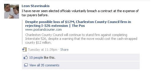 Facebook forum for council criticism
