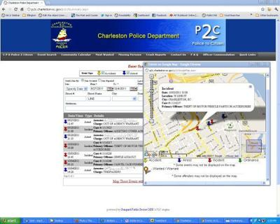 Charleston police accident reports go online