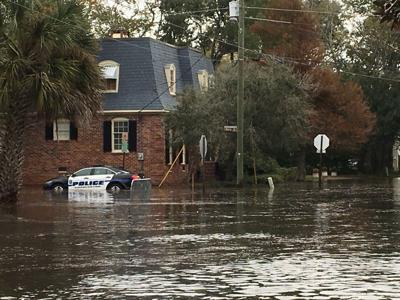 tidal flood