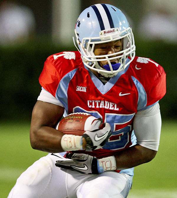 USC's Johnson fond of his time at Citadel