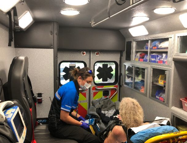 Charleston County EMS responders dawn masks to protect themselves and reduce exposure of COVID-19 as they work..JPG