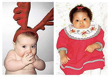 Holiday baby photos wanted for Dec. 25